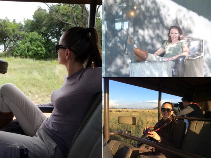 On Safari, SIngita Grumeti & Masai Mara