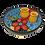 Thumbnail: Oliventeller, Tapassteller Vorspeisenteller spanische Keramik