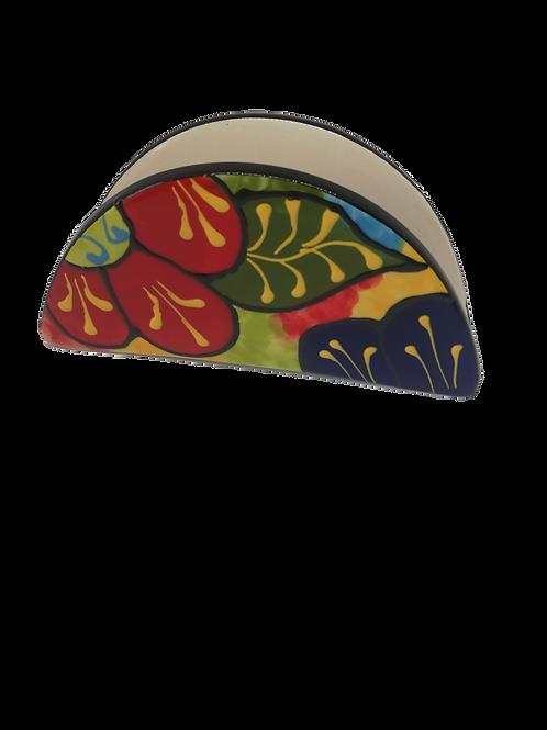Serviettenhalter, Serviettenbehälter Servietten spanische Keramik
