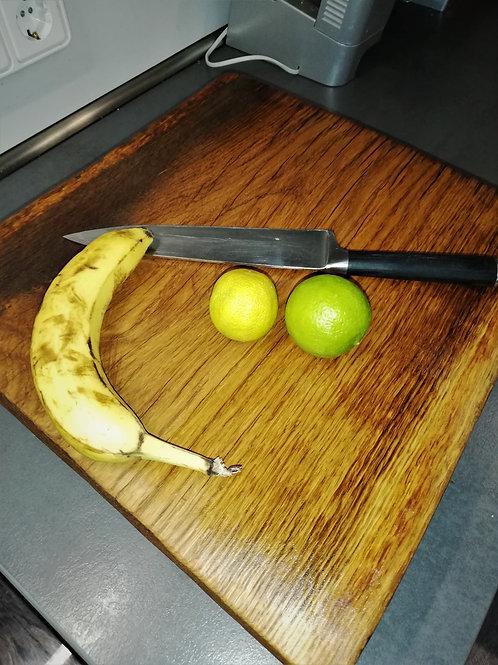 Schneidbrett Holzbrett Eiche Frühstücksbrett