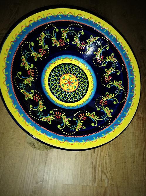 Salatschüssel 38 cm spanisch Suppenschüssel Schüssel Keramik
