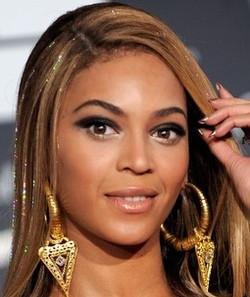 Beyonce fairy hair sparkles tinsel