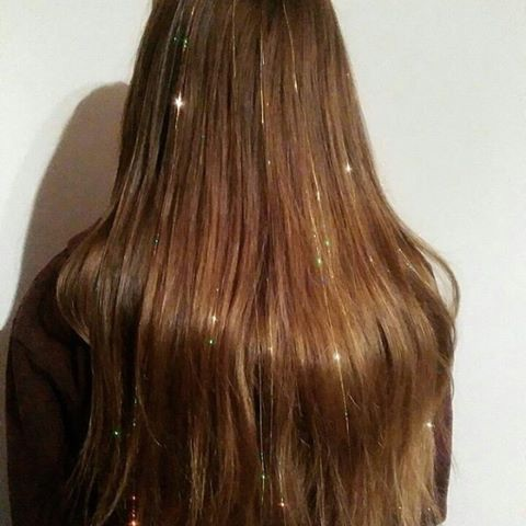 fairy hair sparkles tinsel