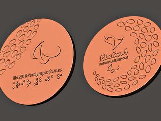 Homenagem Olímpica utilizando Impressão 3D