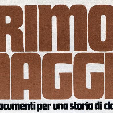 La rivista «Primo Maggio» (1973-1989)