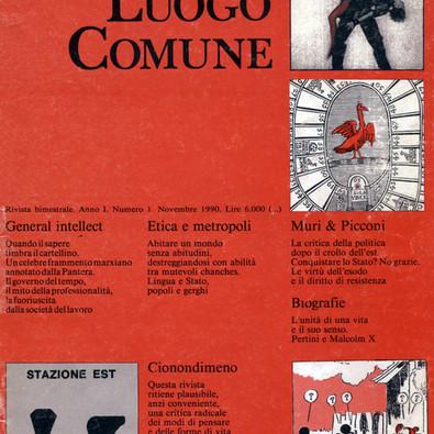 La rivista «Luogo Comune»