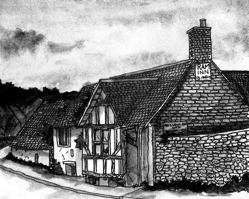 The Ancient Ram Inn, Gloucestershire