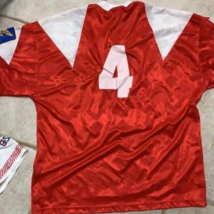 1990 Supra De Montreal Away #4 Gameworn by Marco Rizzi (c/o Marco Rizzi)