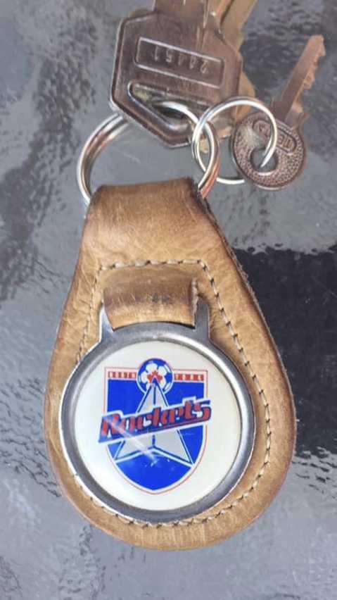 North York Rockets keychain (c/o Marco Antonucci)