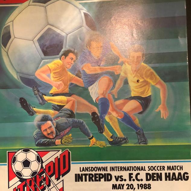 1988 Ottawa Intrepid Friendly vs ADO Den Haag