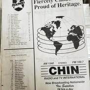 july 8 1990 North York Rockets v Hamilton Steelers Roster (c/o Robin Glover)