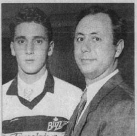 1990 Marco Antonucci drafted in a 1989 jersey (c/o Marco Antonucci)