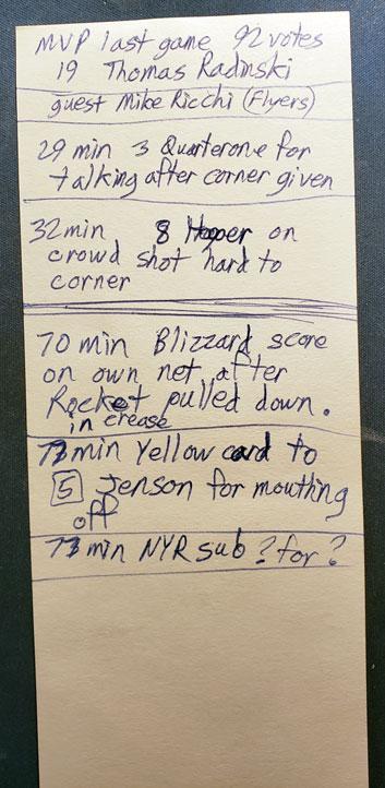 v Blizzard c/o Rocket Robin Glover