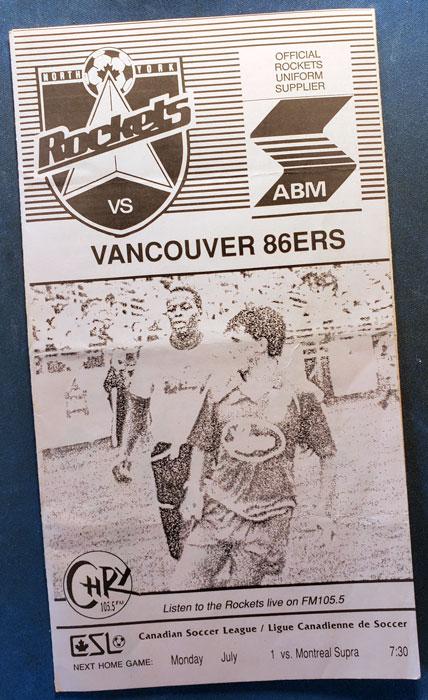 v 86ers c/o Rocket Robin Glover