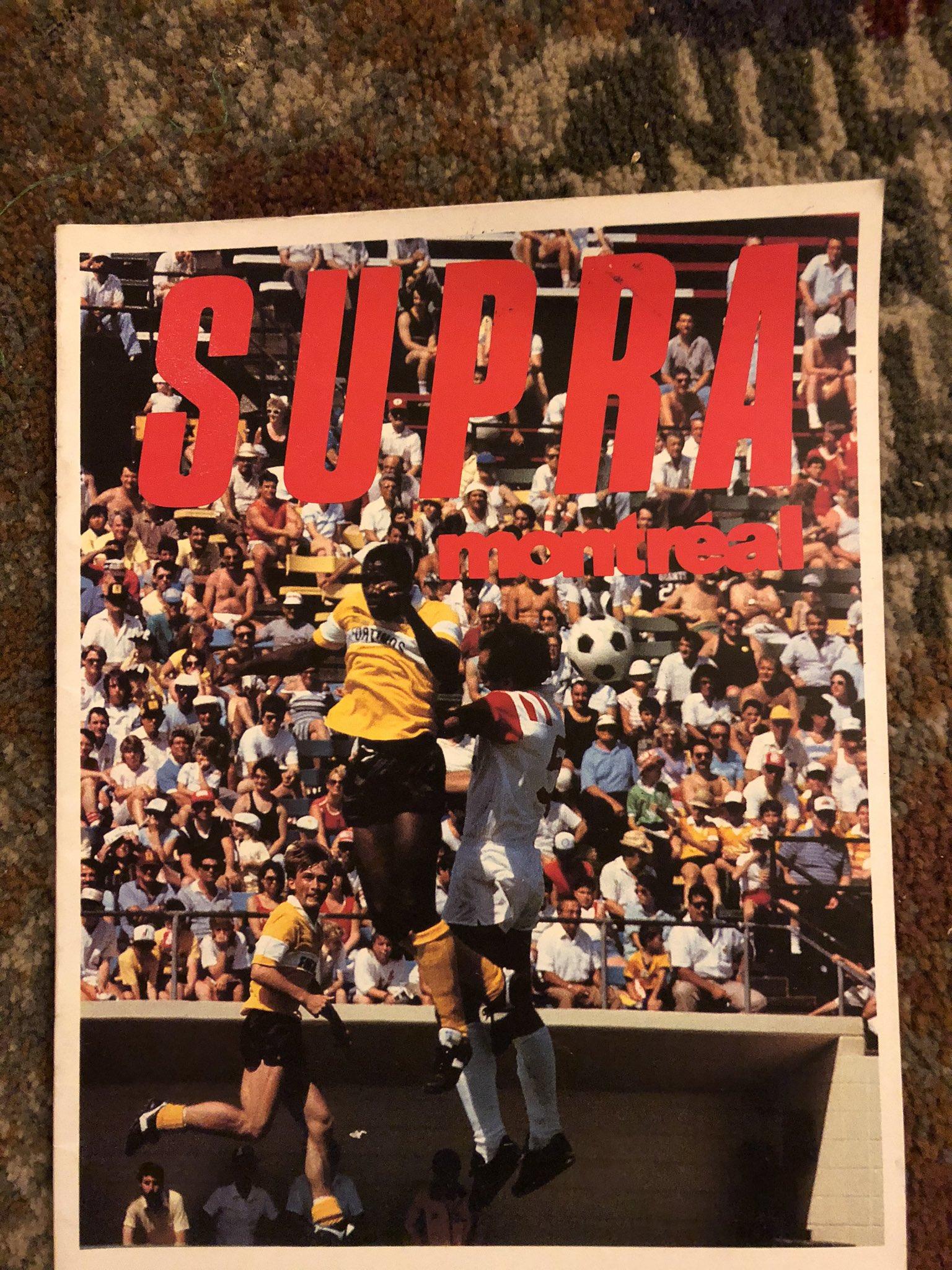 1988 Montreal Supra v Hamilton Steelers (c/o Peter Mackie)