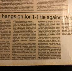 1990 Kitchener Spirit v Victoria Vistas (c/o Peter Mackie)