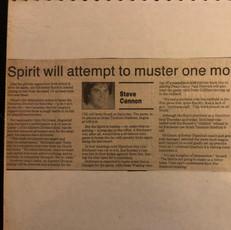 1990 Kitchener Spirit v Hamilton Steelers (c/o Peter Mackie)
