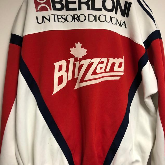Toronto Blizzard Tracksuit #18 Gameworn Marco Antonucci (c/o Marco Antonucci)