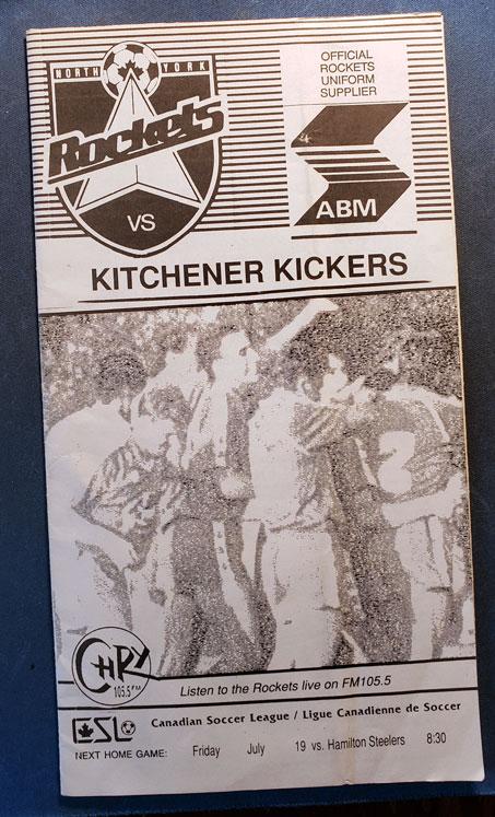 v Kickers c/o Rocket Robin Glover