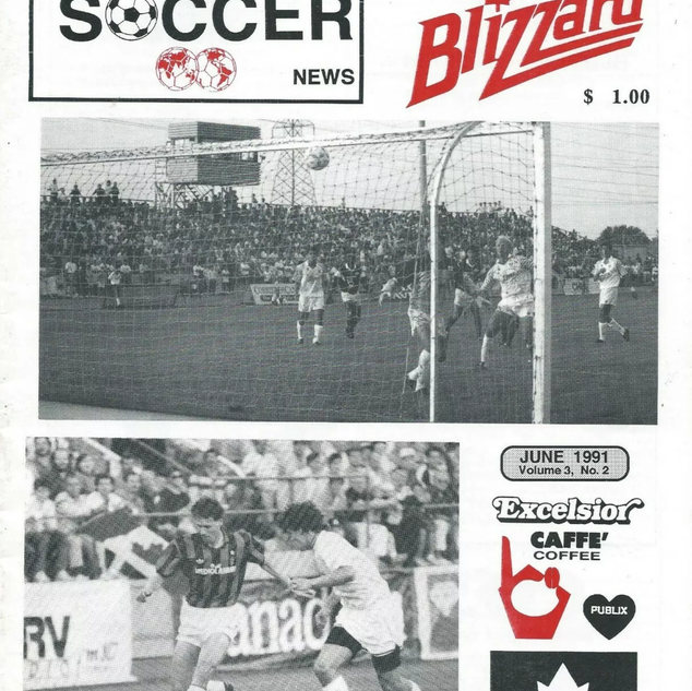1991 Toronto Blizzard vs North York Rockets
