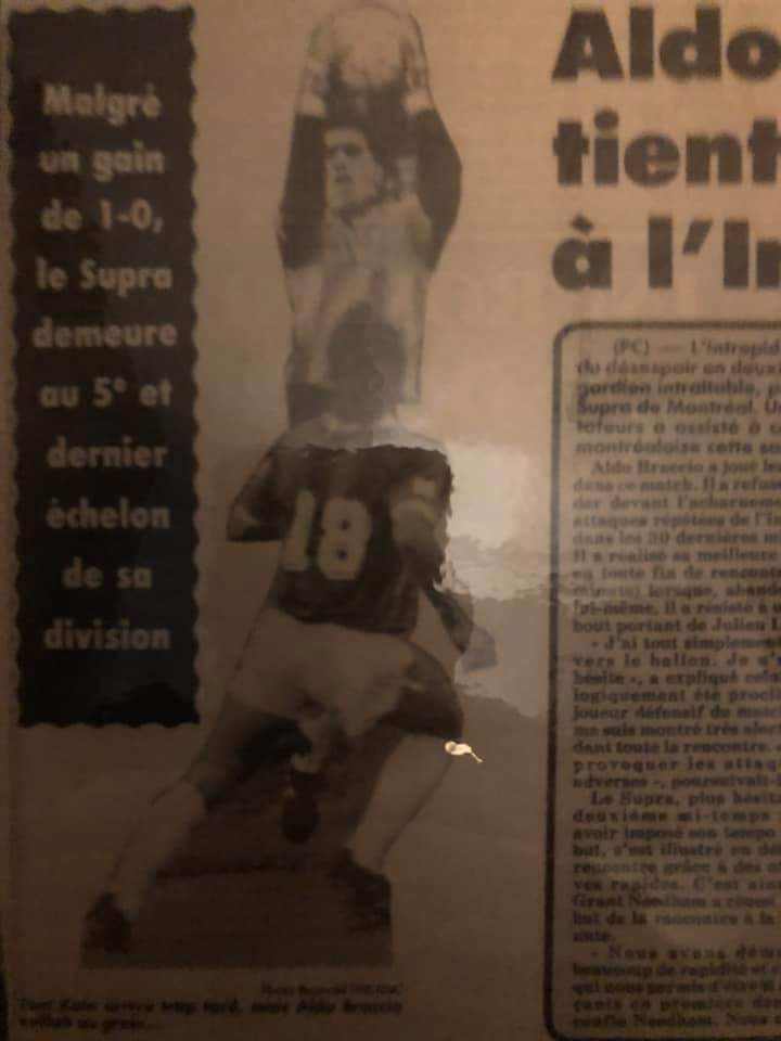 1988 Montreal Supra clipping (c/o Aldo Braccio)