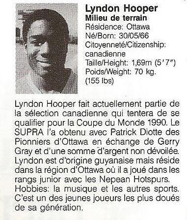 1988 Montreal Supra Lyndon Hooper