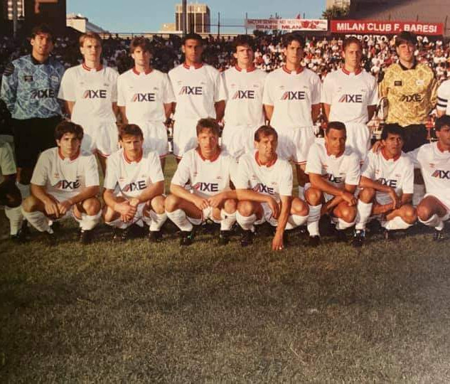 1991 CSL All Star team (c/o Marco Rizzi