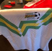 1990 Kitchener Spirit Home Gameworn #6 Peter Mackie (c/o Peter Mackie)