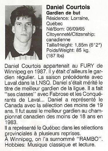 1988 Montreal Supra Daniel Courtouis