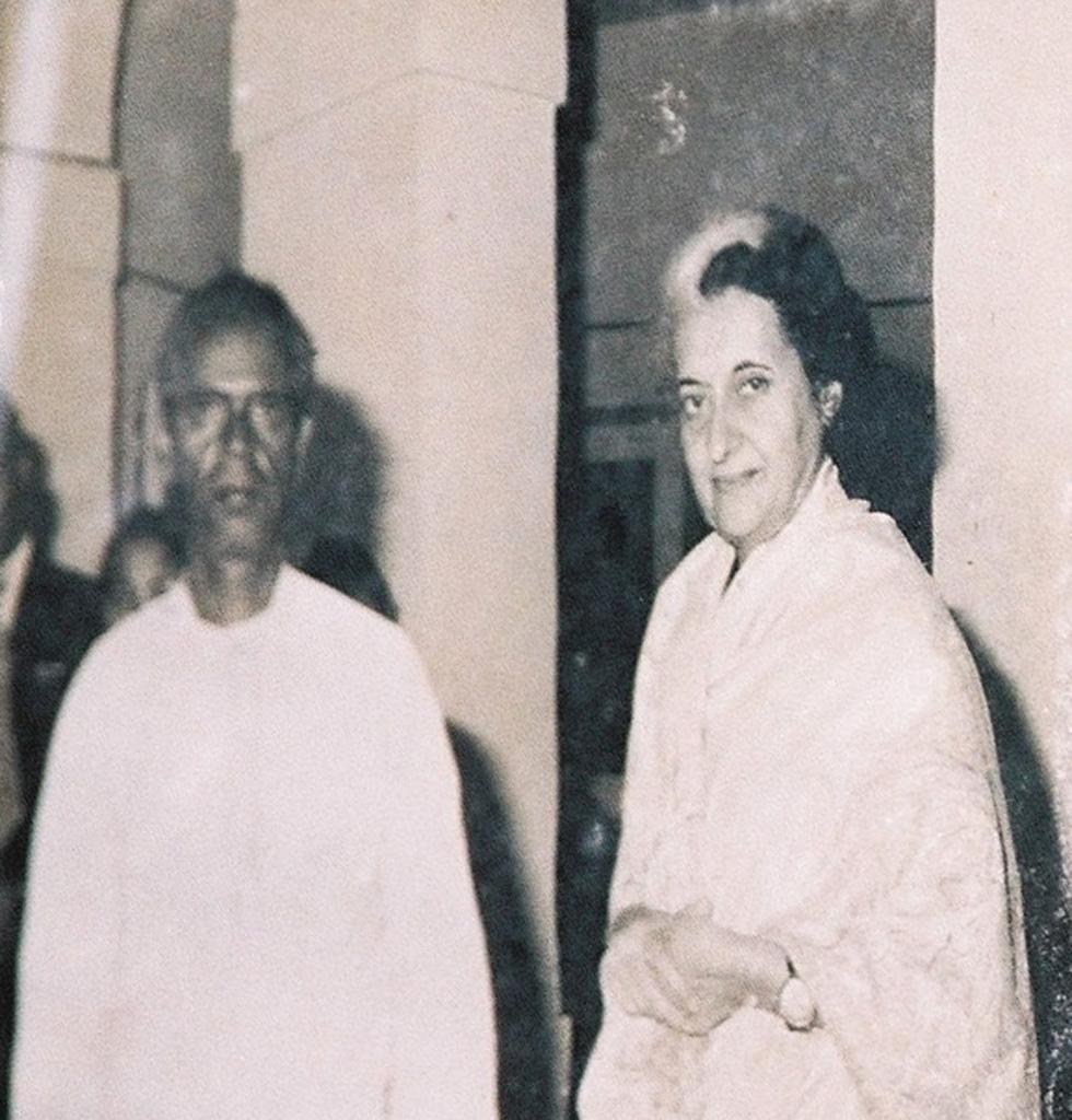 Jivya Soma Mashe, Indira Gandhi