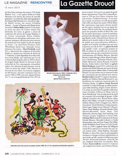 2013 la gazette mars