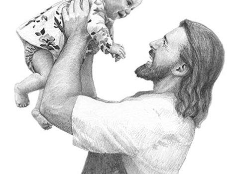 Savior with Baby Girl