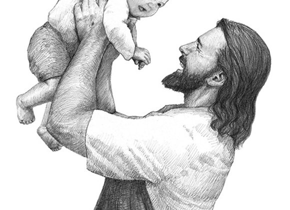 Savior with Baby Boy