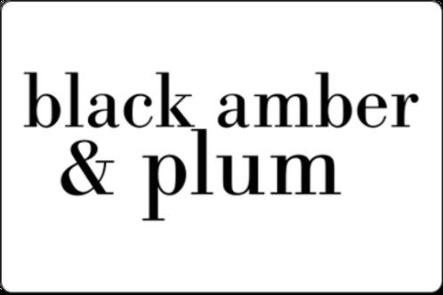 12oz Black Amber & Plum