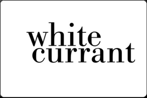 12oz White Currant