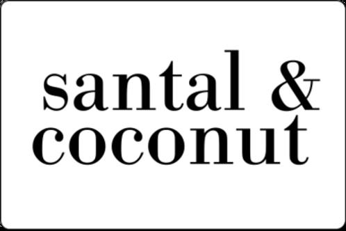 12oz Santal & Coconut