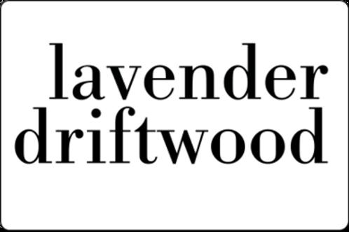 12oz Lavender Driftwood