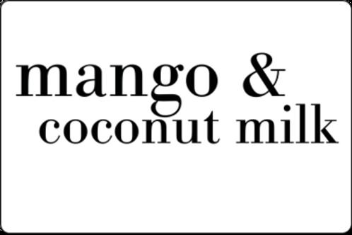 12oz Mango & Coconut Milk
