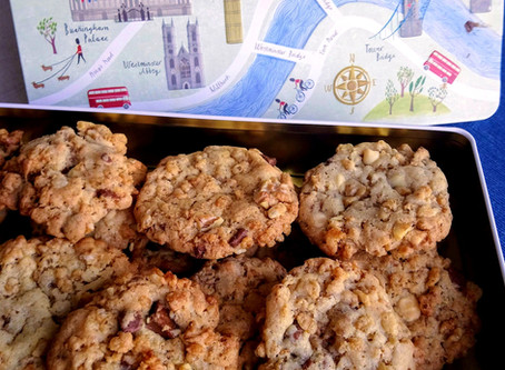 Divine biscuits to die for ... Chocolate and Walnut Jumbles