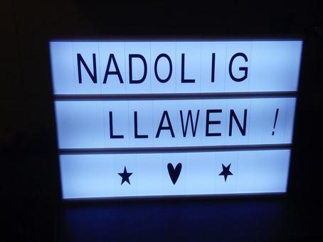 Nadolig Llawen a Blwyddyn Newydd Dda