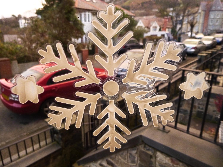 Christmas window dekor