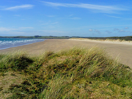Paradise beaches on Anglesey - Newborough and Ynys Llanddwyn - St. Dwynwen's home