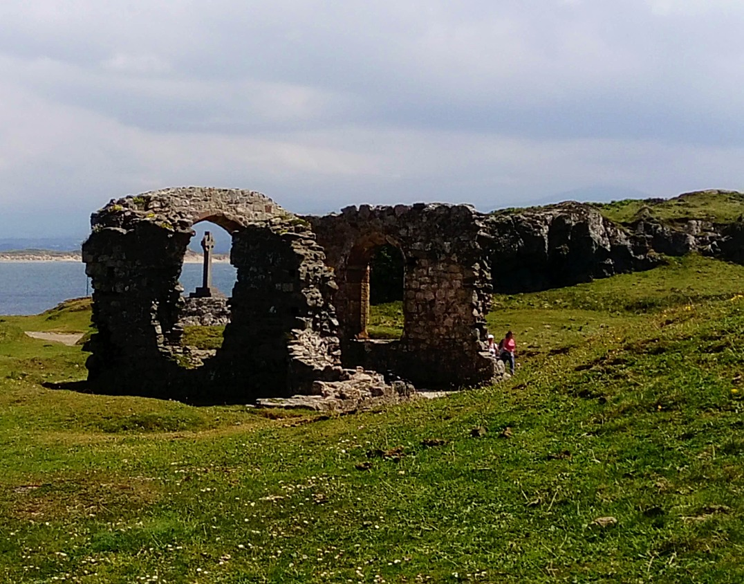 Remains of St Dwynwen's convent