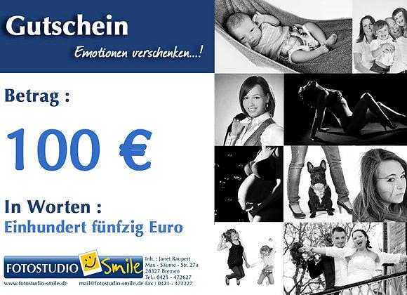 Gutschein imWert von 100€