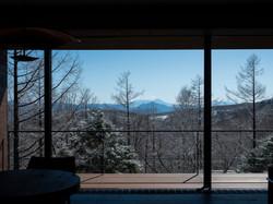 富士山を望む眺望