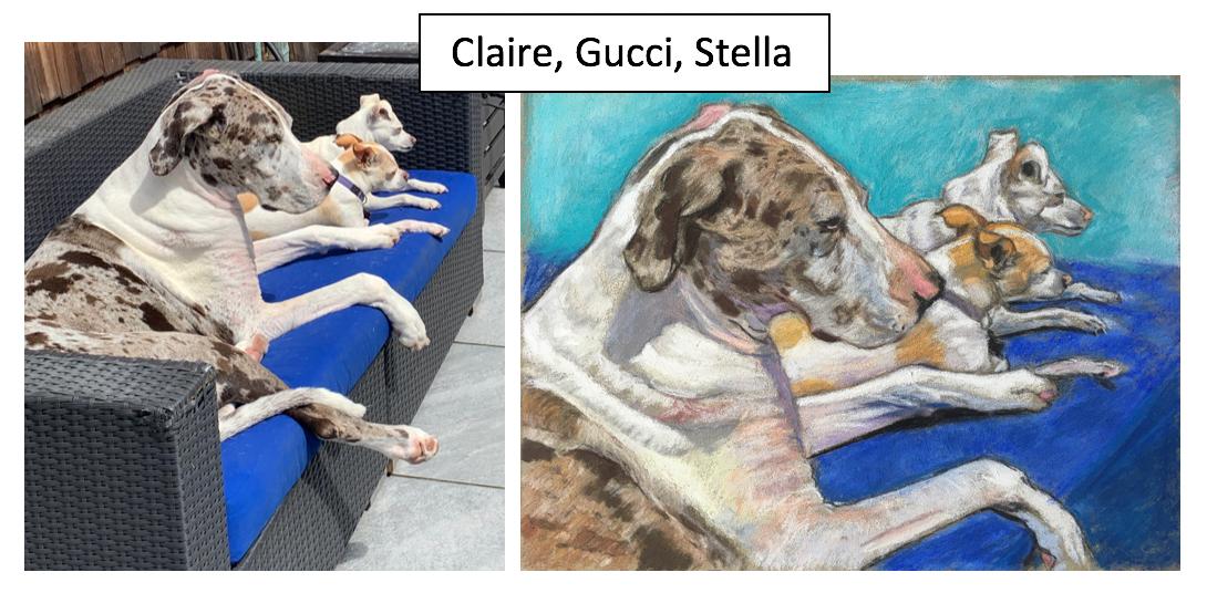 Claire, Gucci, Stella by Debbie Tancik