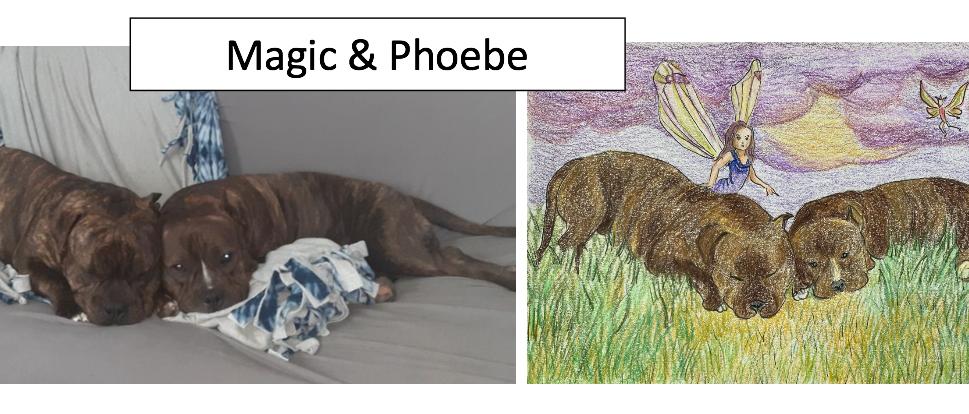 Magic & Phoebe by Gin Wesener