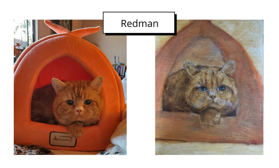 Redman by Martha Mellinger