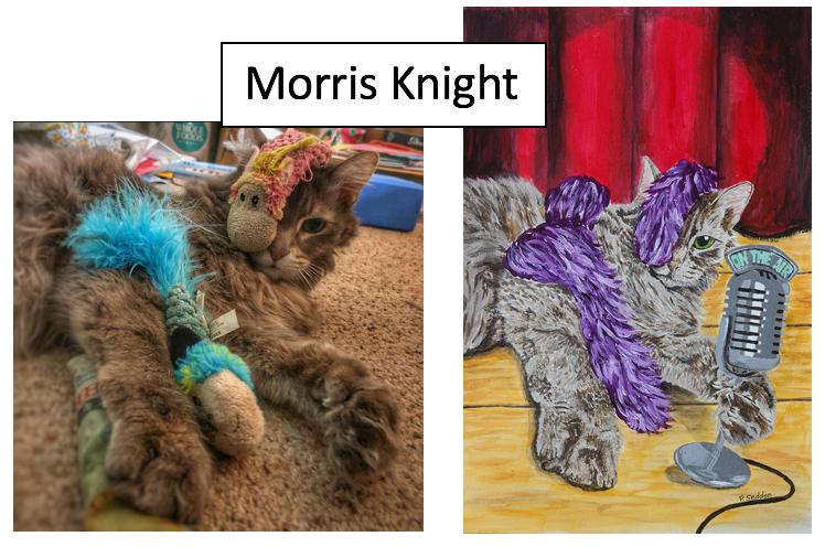 Morris Knight by Patrica Seddon