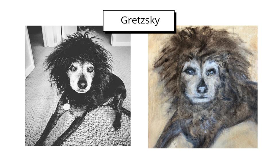 Gretzsky by Martha Mellinger